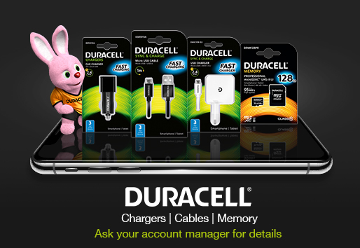 Duracell Charger | Cables | Memory
