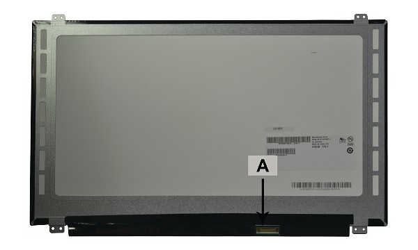 "C1JFR Panel LCD 15,6"" 1920x1080 Full HD LED Glossy TN"