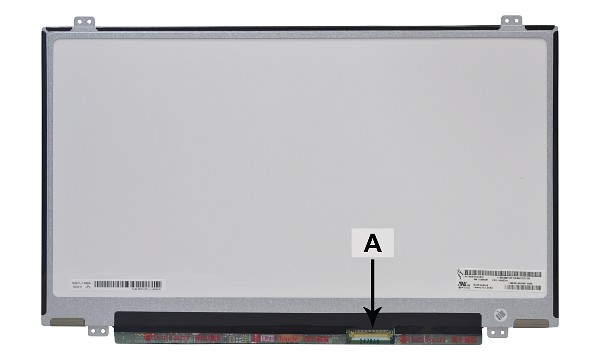 "V3YHF Panel LCD 14,0"" HD+ 1600x900 LED Mate"