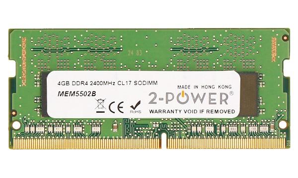 Pavilion 15-cc180ng 4GB DDR4 2400MHz CL17 SODIMM