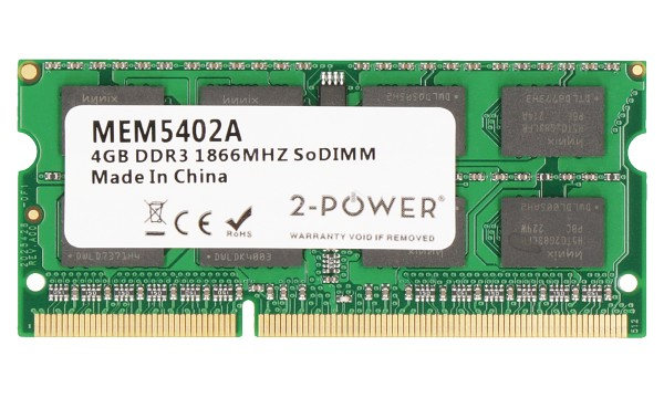 Satellite L670D-10R 4GB DDR3 1866MHZ SODIMM