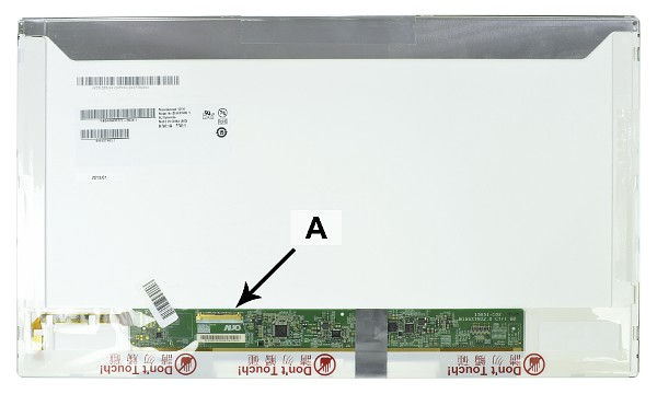 "LP156WH2TLRB Panel LCD 15.6"" WXGA HD 1366x768 LED Mate"