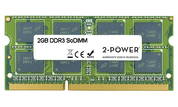Satellite L655-1CK 2GB DDR3 1066MHz DR SoDIMM