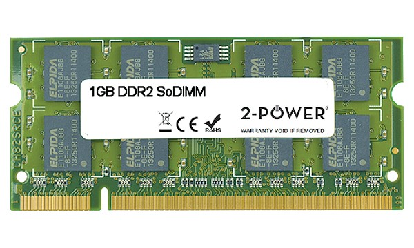 Satellite Pro L300-13F 1GB DDR2 800MHz SoDIMM