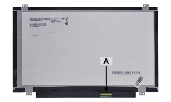 "B140XW03V.1 Panel LCD 14"" WXGA HD 1366x768 LED Mate"