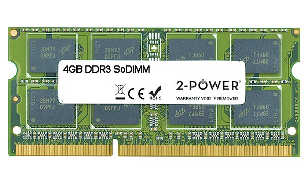 H2P64AA#UUZ 4GB MultiSpeed 1066/1333/1600 MHz SoDiMM
