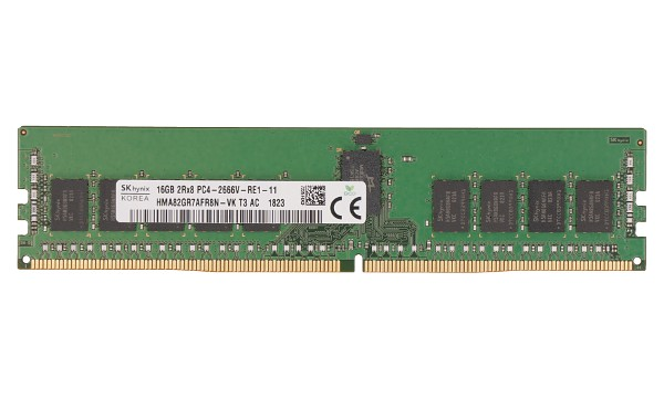 ProLiant DL560 Gen10 Entry 16GB 2Rx8 2666MHz ECC Reg RDIMM CL19