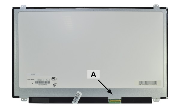 "N156BGE-L31 Panel LCD 15.6"" WXGA HD 1366x768 LED Mate"