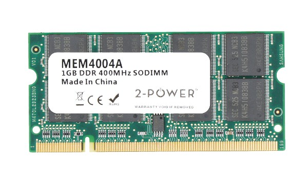 Latitude D410 Advanced 1GB PC3200 400MHz SODIMM