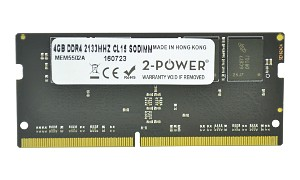 4GB DDR4 2133MHz CL15 SODIMM