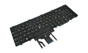 Precision 7710 Backlit Keyboard w/ Point Stick (UK)