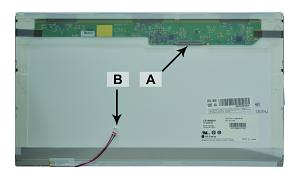 Producto compatible 2-Power para sustituir Pantalla B156XW01 Acer